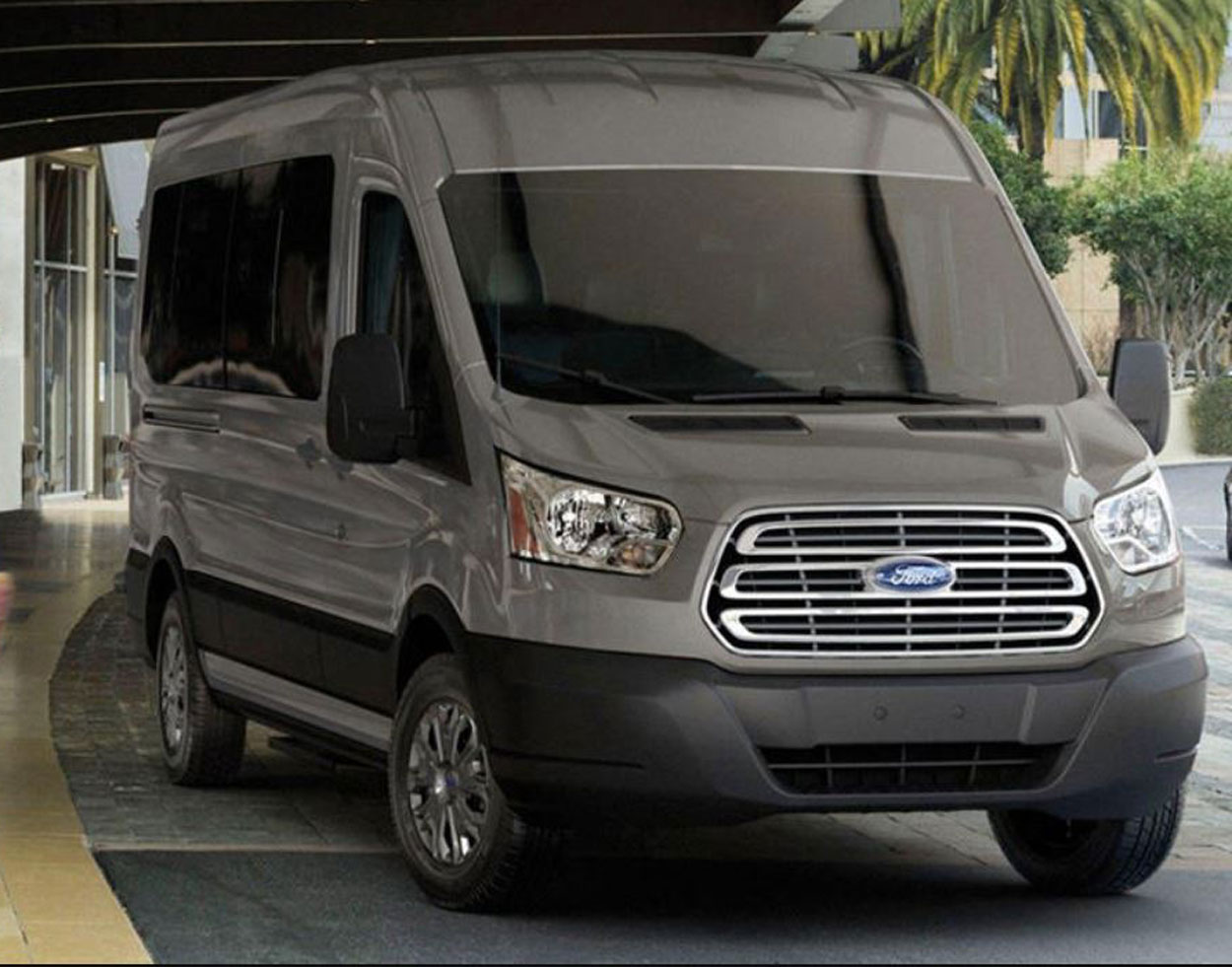 Private Car Transportation Luxury Passenger Van